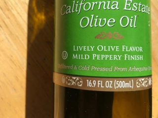 Olive Oil with mL