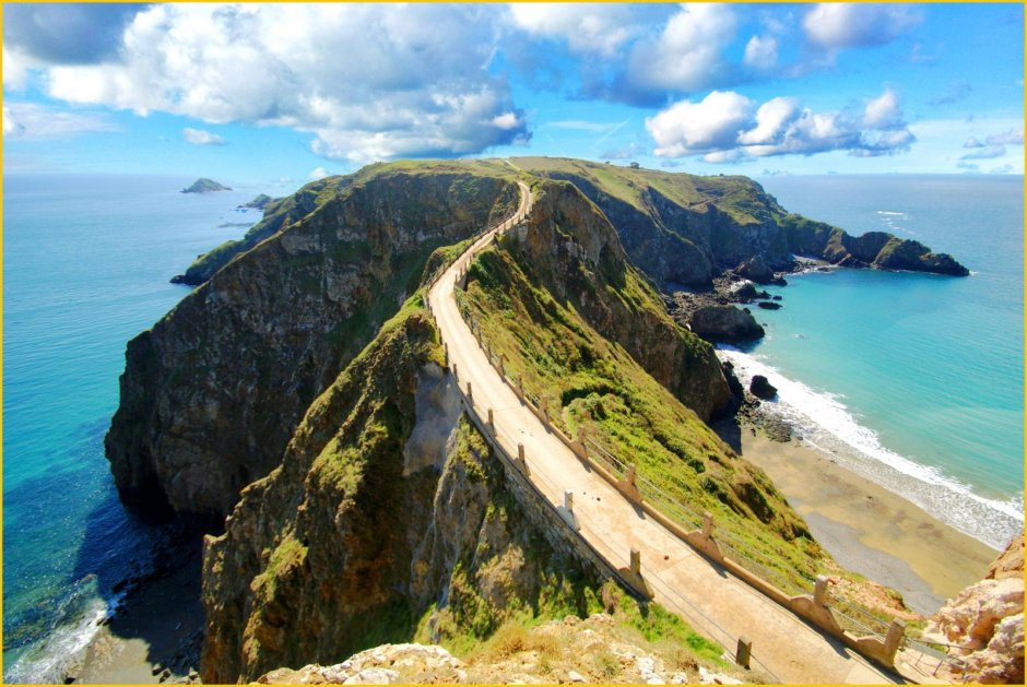 La Coupee Sark Island